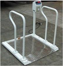 XK3101100kg医院用不锈钢轮椅秤
