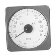 上海自一船用儀表廠,廣角度功率因數表,13T1-COSФ