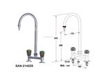 不锈钢单口冷热水龙头SAN-21402S(台雄)
