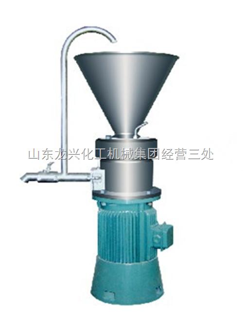 JM系列胶体磨用途 小型胶体磨
