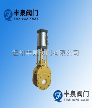 气动陶瓷单闸板阀