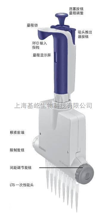Pipet-Lite XLS 间距可调多道移液器