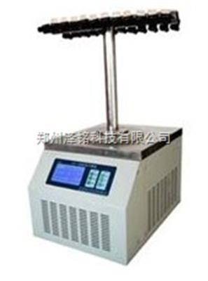 LGJ-10多歧管T型真空冷冻干燥机/河北多歧管T型真空冷冻干燥机*