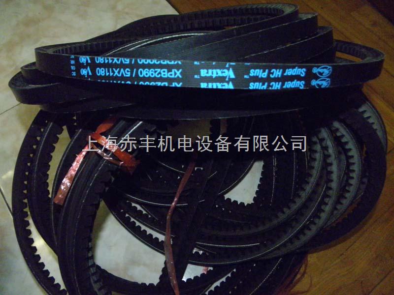 美国盖茨带齿三角带5VX1800耐高温皮带/进口空压机皮带