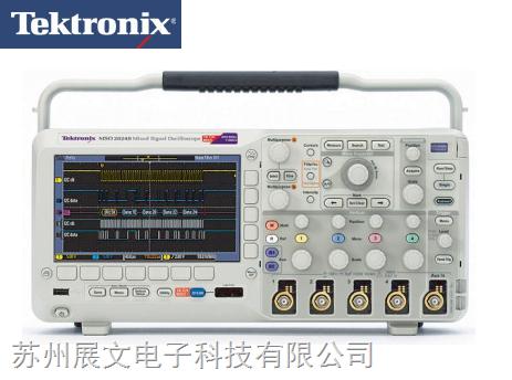 泰克MSO2024B 4通道混合信号示波器