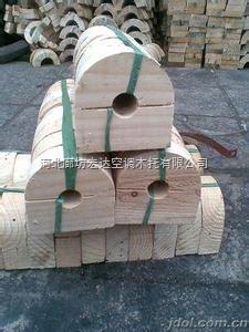供应管道木托 防腐垫木