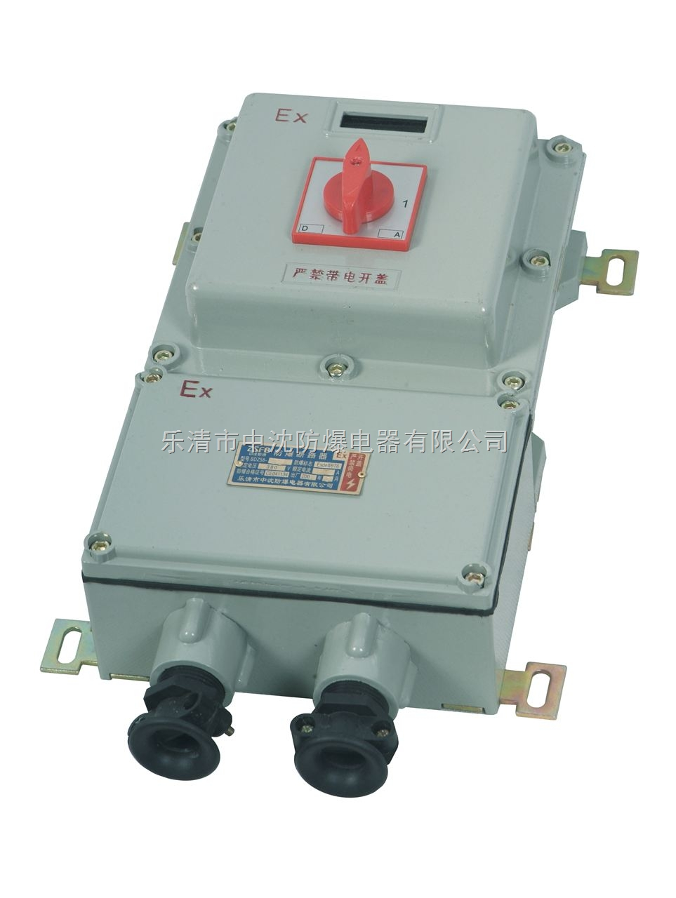 BDZ防爆电机控制开关 防爆断路器 控制水泵防爆开关箱