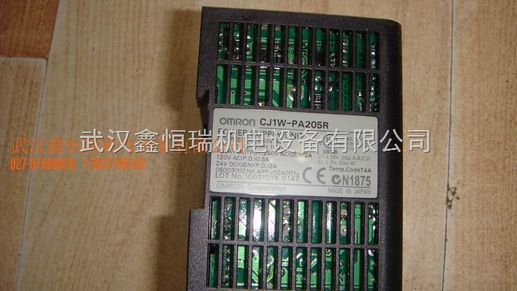 欧姆龙plc电源模块c200hw-pa204