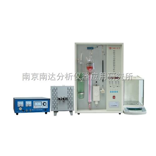 NQR-4D型管式智能全自动碳硫联测分析仪