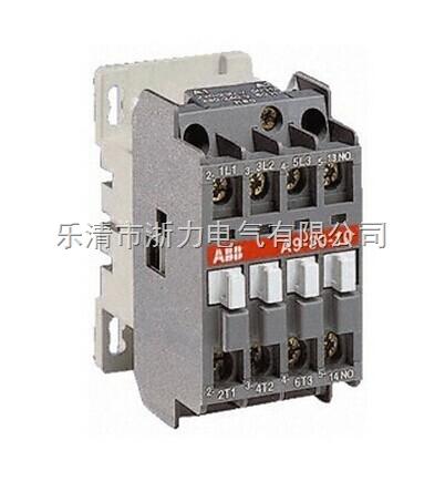 abb交流接触器a9-30-10-产品报价-乐清市浙力电气