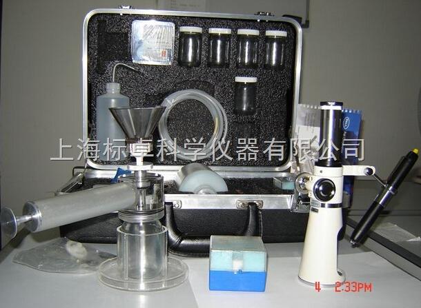 自动油液颗粒度污染度检测仪