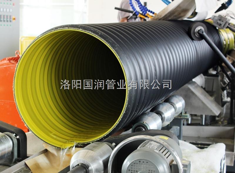 排污HDPE钢带波纹管