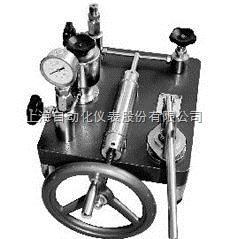 上海自動化儀表廠YJY-60 壓力表校驗器/壓力校驗臺
