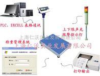 JWE(I)钰恒100kg电子秤接打印功能 不干胶打印的电子台秤