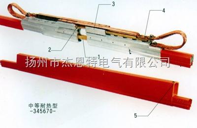 单极H型铜膨胀段伸缩节热补偿装置