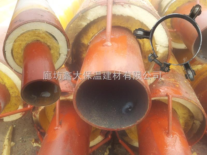 鑫大保温管/高温预制直埋蒸汽保温管/钢套钢蒸汽保温管