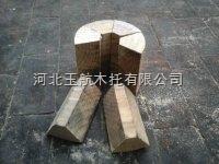 冷冻水管管道扇形木块特价