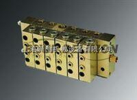 3000系列原装代利蒙DELIMON集成MU和M型递进式油量分配器,DELIMON代利蒙2000系列分配器