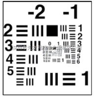 TE136愛莎測試卡esser test chart