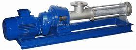 FG整体不锈钢单螺杆泵