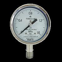 不锈钢压力表 Y-100B-F