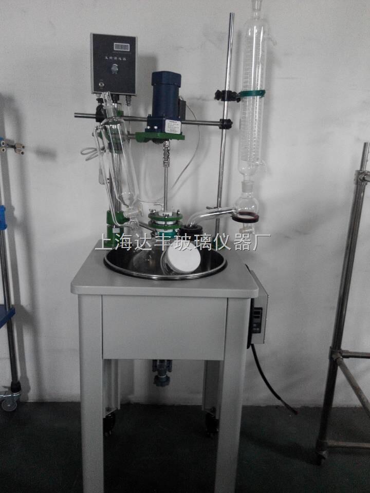 单层玻璃反应釜厂家