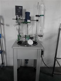 30L单层玻璃反应釜 单层釜 达丰玻璃反应釜 专业生产厂家