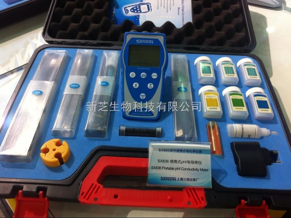SX8系列便携式PH/电导率/溶解氧SX836