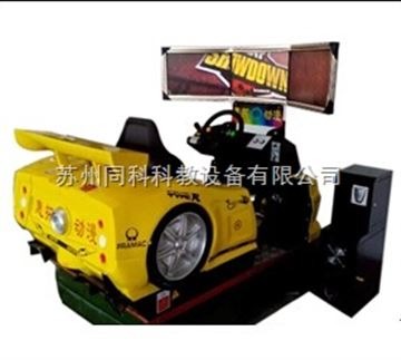 TK4D-LT-05單座三屏4D全動感汽車模擬器