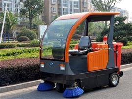電動駕駛式道路清掃車