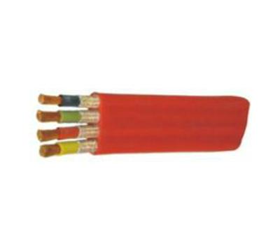 硅橡胶 护套耐高温防腐耐油扁形电力电缆