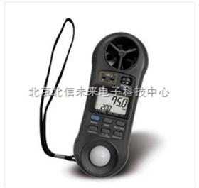 LM8000A四合一风速计 风速风温风湿照度综合测试仪