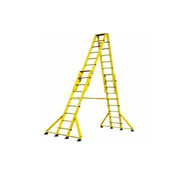 ST玻璃钢升降合梯,绝缘伸缩合梯