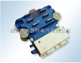 十六极集电器单碳刷JD16-16/40配管94*114*24,16极集电器