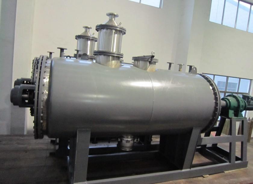 ZPG-5000化工污泥桨叶耙式干化机