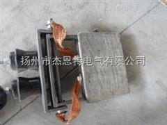 起重机用超耐磨加大双梁角钢滑块,加厚导电块,重型集电器