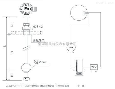 产品展厅 电子电工仪器 物位仪表 浮球液位计 uqz-210aao12f10