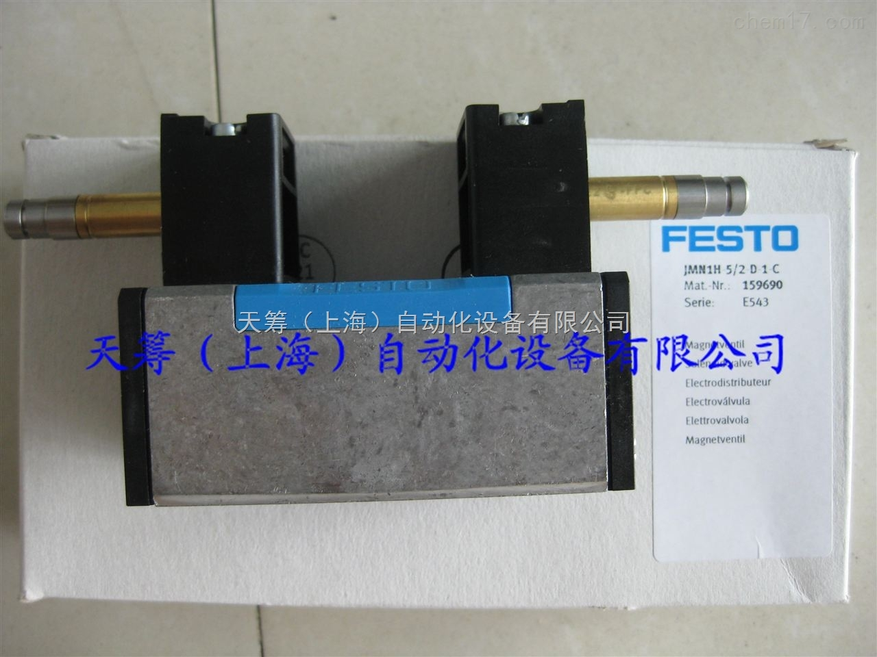 FESTO电磁阀JMN1H-5/2-D-1-C