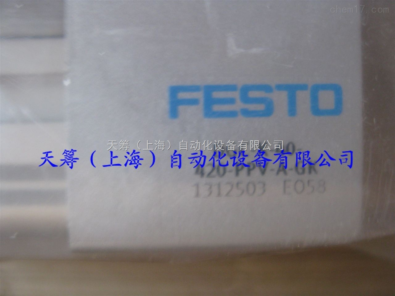 FESTO无杆气缸DSBC-63-70-PPVA-N3