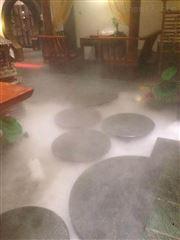 酒店会所喷雾降温设计