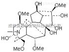 新乌头原碱,Mesaconine,6792-09-2,鉴别方法