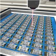 光学元件平行度测量