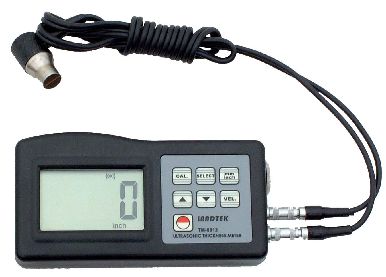 超声波测厚仪原理及影响精度的因素