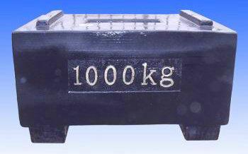 1吨铸铁标准砝码