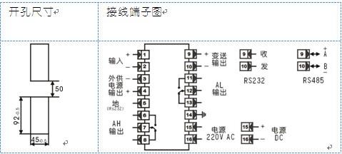 xst/a-hirt4a1温度控制仪