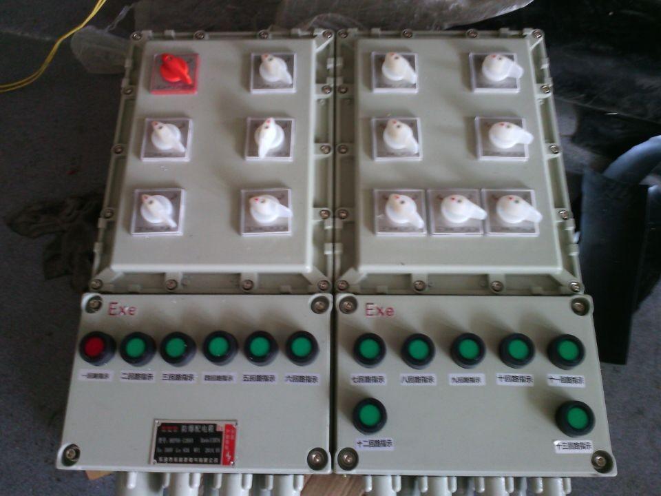 厂家热卖BXMD隔爆照明配电箱 制药厂专用不锈钢防爆箱