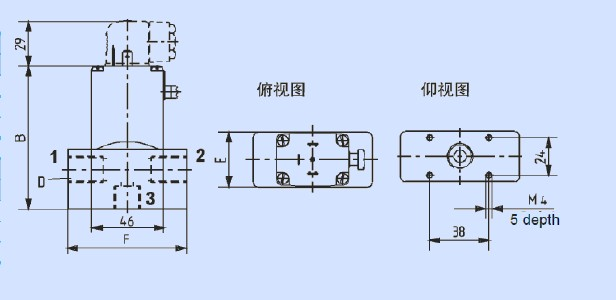 直流动力单元双向电磁阀接线图