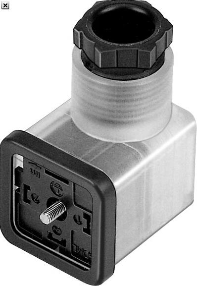 pev-1/4-wd-led-24 festo插头插座 费斯托直角式插头插座