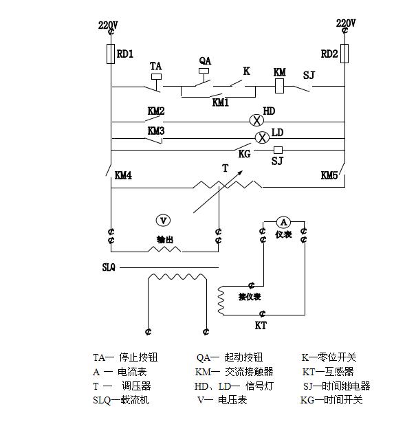 通过调整调压器输出电压