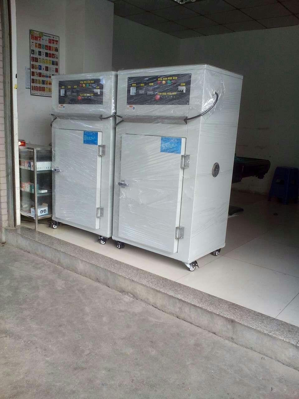 采用RKC温控器、固态机电器、接触器、蜂鸣器、时间调节器、报警器、超温保护器; 控制系统采用CKC,温度到计时时到切断电热完成指示灯及DZ两侧循环风。设计烤箱专用风道,风道两侧强制循环送风,加热温度均匀,自动定时排放烤箱内气体,温度误差±3度内。